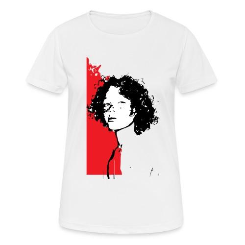 L'enfant rouge représente la terre rouge d'Afrique - T-shirt respirant Femme