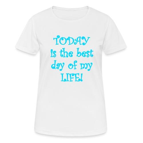 Carpe Diem 21.2 - Frauen T-Shirt atmungsaktiv