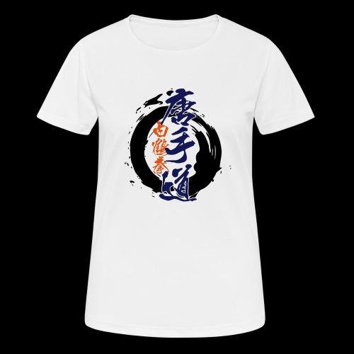 enso karatedo - Frauen T-Shirt atmungsaktiv