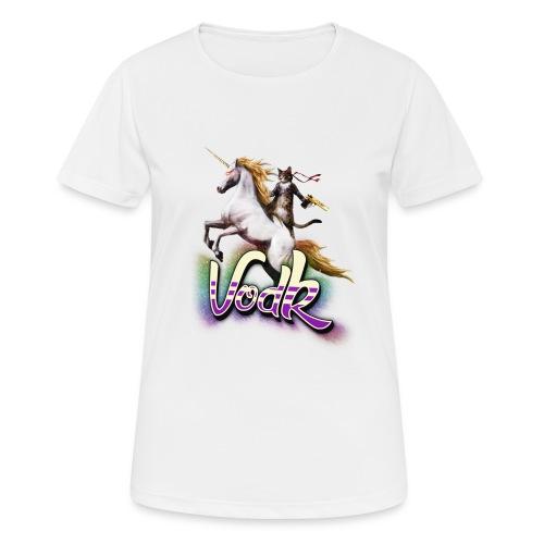 VodK licorne png - T-shirt respirant Femme