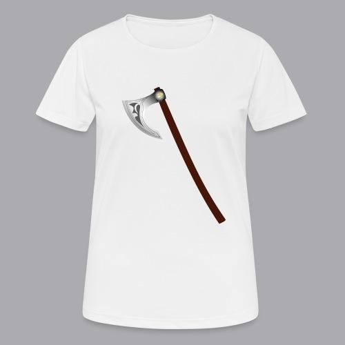 Wikinger Beil - Frauen T-Shirt atmungsaktiv