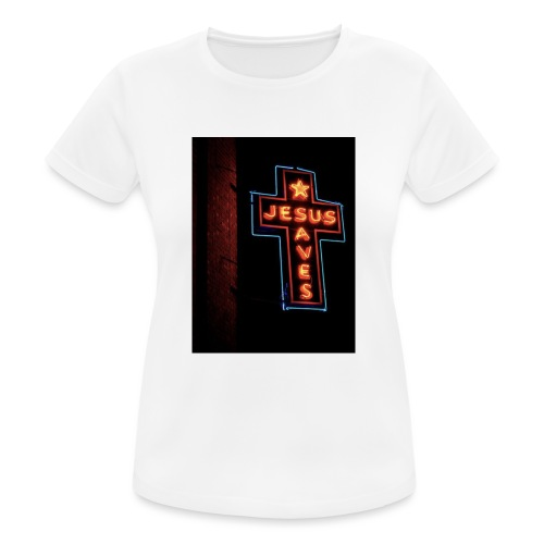 Jesus Saves - Women's Breathable T-Shirt