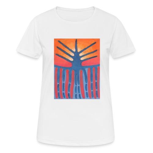 drzewo prehistoryczne 1 - Koszulka damska oddychająca