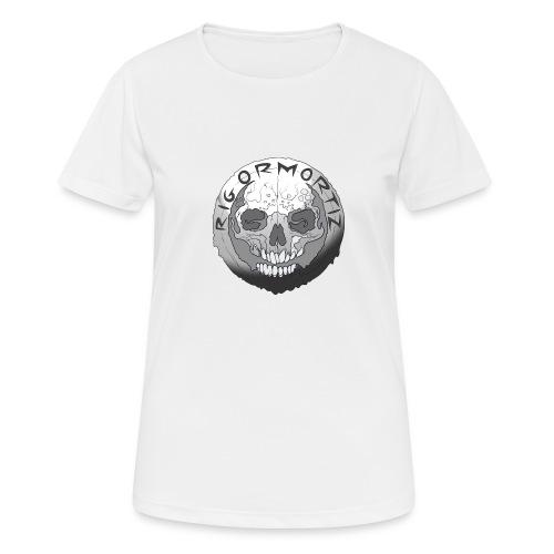 Rigormortiz Black and White Design - Women's Breathable T-Shirt