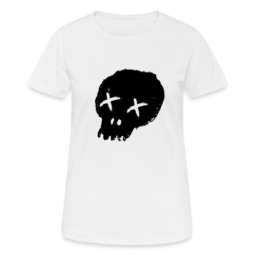 blackskulllogo png - Women's Breathable T-Shirt