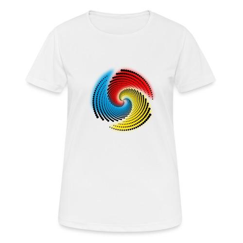 Farbspirale - Frauen T-Shirt atmungsaktiv
