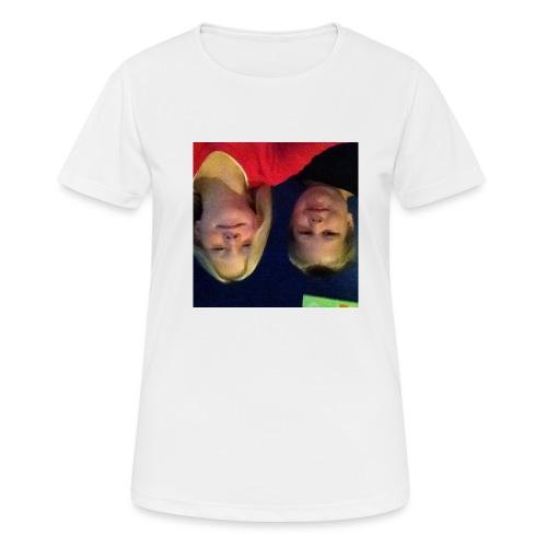 Gammelt logo - Dame T-shirt svedtransporterende