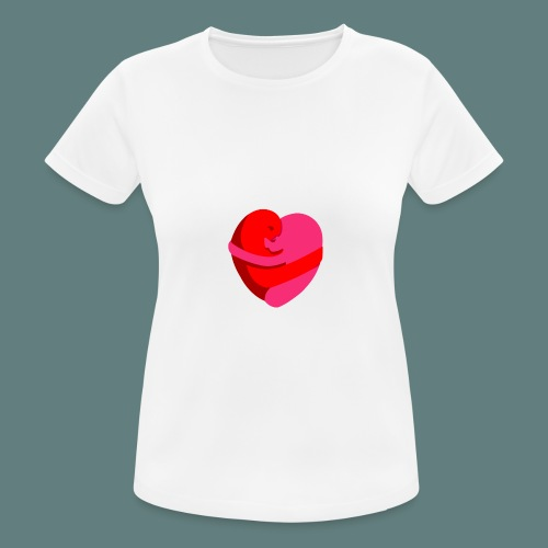 hearts hug - Maglietta da donna traspirante