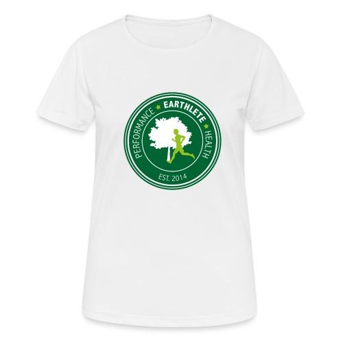 EARTHLETE Brand Logo - Dame T-shirt svedtransporterende