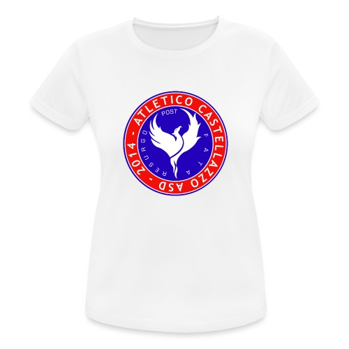 Logo Ufficiale Atletico Castellazzo - Maglietta da donna traspirante