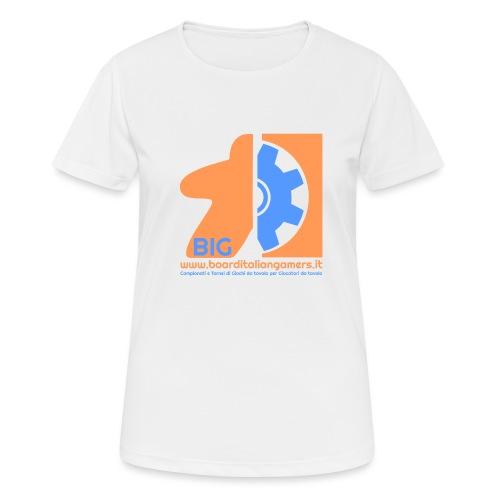 BIG - Maglietta da donna traspirante
