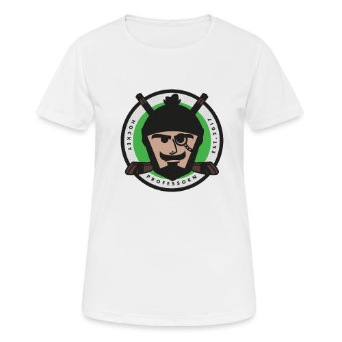 HockeyProfessorn logo - Andningsaktiv T-shirt dam