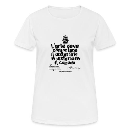 Aforisma Banksy - Maglietta da donna traspirante