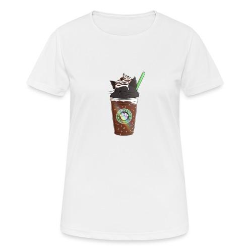 Catppucino Dark Chocolate - Women's Breathable T-Shirt