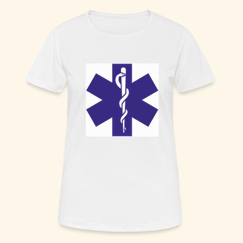 estrella de la vida - Camiseta mujer transpirable