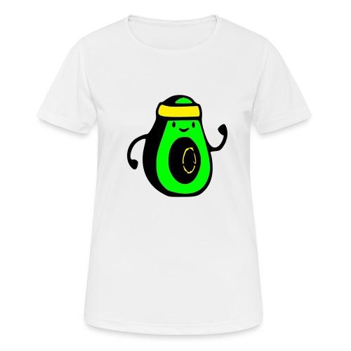aguacate ninja - Camiseta mujer transpirable
