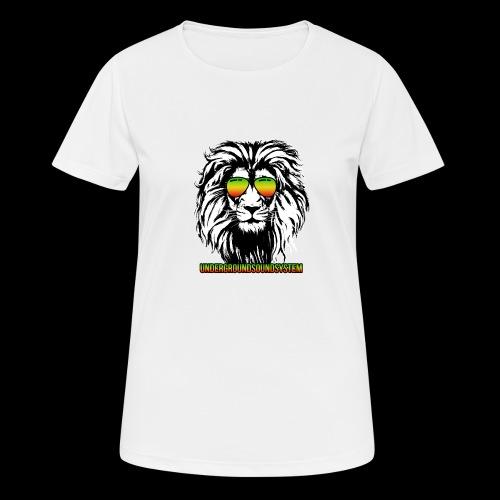 RASTA REGGAE LION - Frauen T-Shirt atmungsaktiv