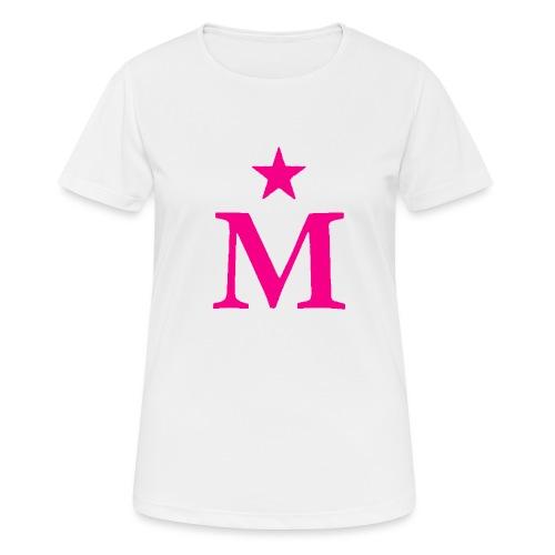 M de Moderdonia rosa - Camiseta mujer transpirable