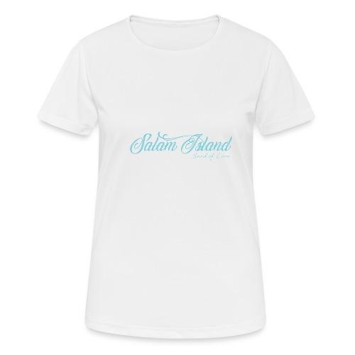 Salam Island calli bleu - T-shirt respirant Femme