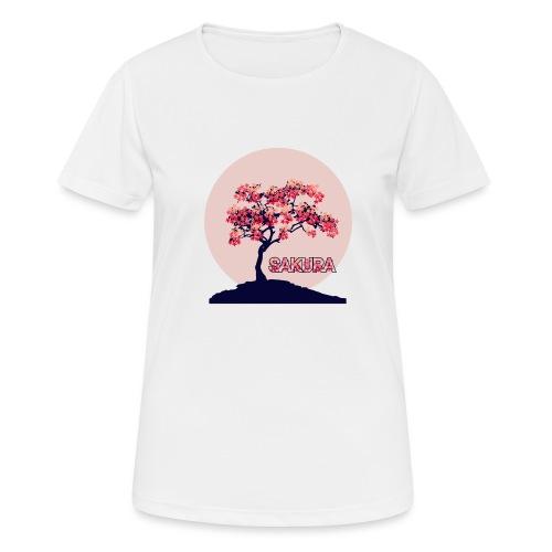 CR - Sakura - Camiseta mujer transpirable
