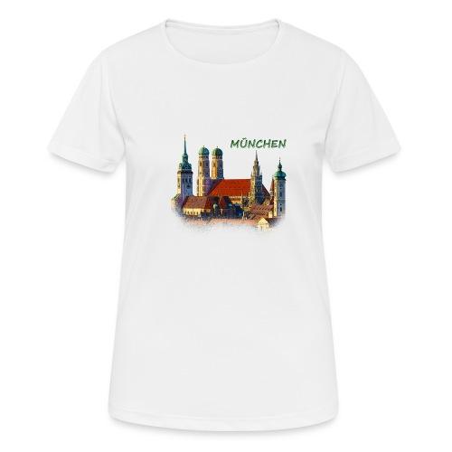 München Frauenkirche - Frauen T-Shirt atmungsaktiv