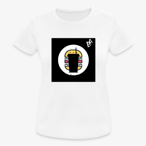 coffee burger DA - Frauen T-Shirt atmungsaktiv