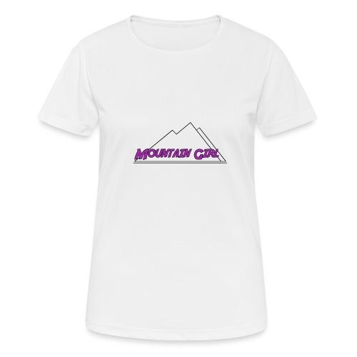 Mountain Girl - Frauen T-Shirt atmungsaktiv