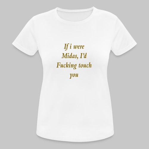 I hate you, basically. - Women's Breathable T-Shirt