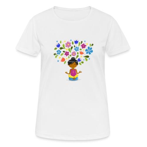 Meditation - Gedanken formen Deine Welt - Frauen T-Shirt atmungsaktiv