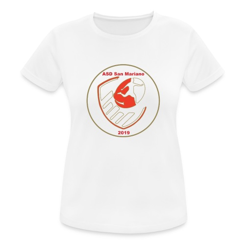 Logo ASD San Mariano 2019 - Maglietta da donna traspirante