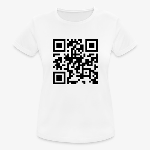 QR Code - Women's Breathable T-Shirt