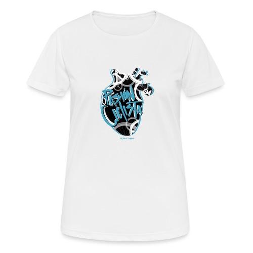 PASIÓN CICLISTA - Camiseta mujer transpirable