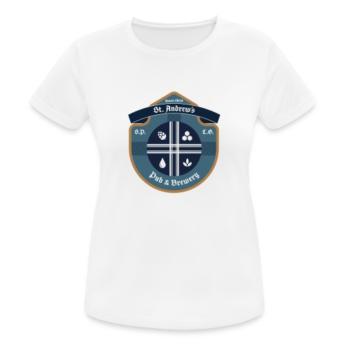 St Andrews T-Shirt - Maglietta da donna traspirante