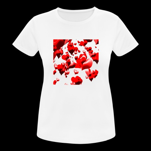 hearts - Women's Breathable T-Shirt