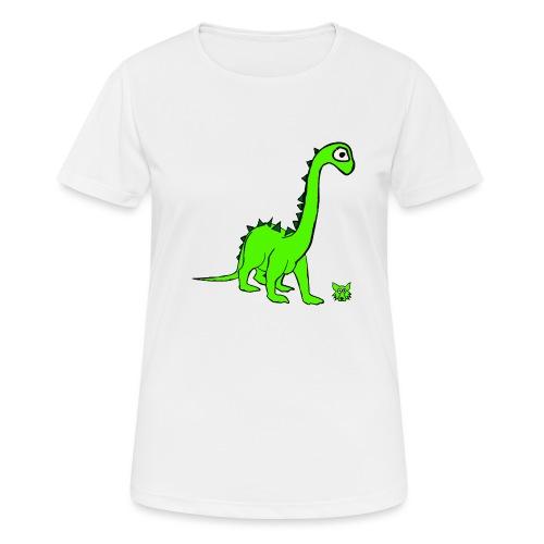 dinosauro - Maglietta da donna traspirante