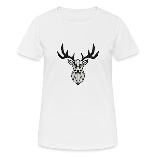 Hirsch - Hirsch - Hirsch - Frauen T-Shirt atmungsaktiv