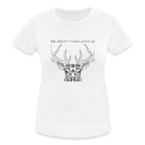 EB ANTLERS T - Women's Breathable T-Shirt