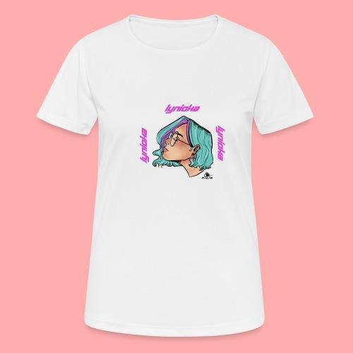 Lynioka Purple Up - T-shirt respirant Femme