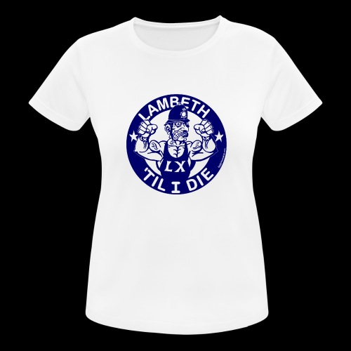 LAMBETH - NAVY BLUE - Women's Breathable T-Shirt