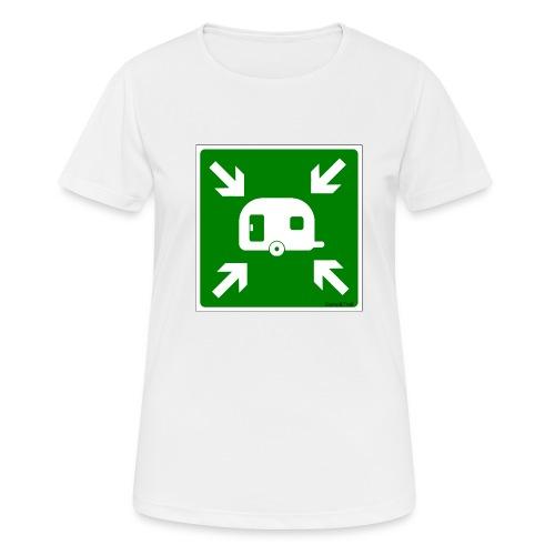 Meeting Point Caravan - Frauen T-Shirt atmungsaktiv