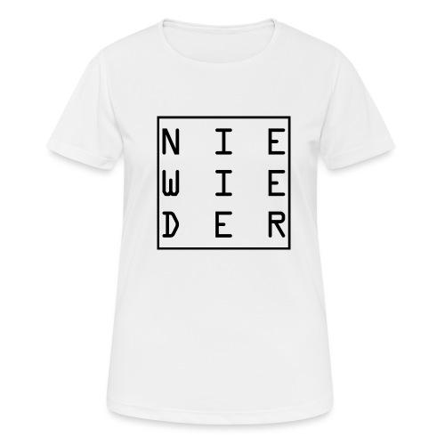 WORTKunstwort 21.2 - Frauen T-Shirt atmungsaktiv