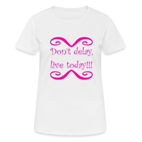 Carpe Diem 21.1 - Frauen T-Shirt atmungsaktiv