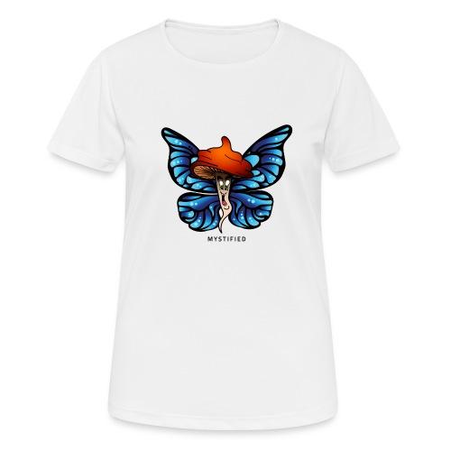 Mystified Butterfly - Vrouwen T-shirt ademend actief