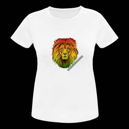 LION HEAD - UNDERGROUNDSOUNDSYSTEM - Frauen T-Shirt atmungsaktiv