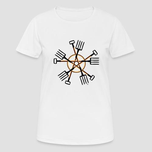 PAGAN GARDENER - Women's Breathable T-Shirt