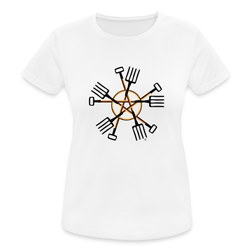PAGAN GARDENER - Women's Breathable T-Shirt