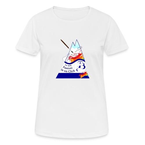 Logo colori - Maglietta da donna traspirante