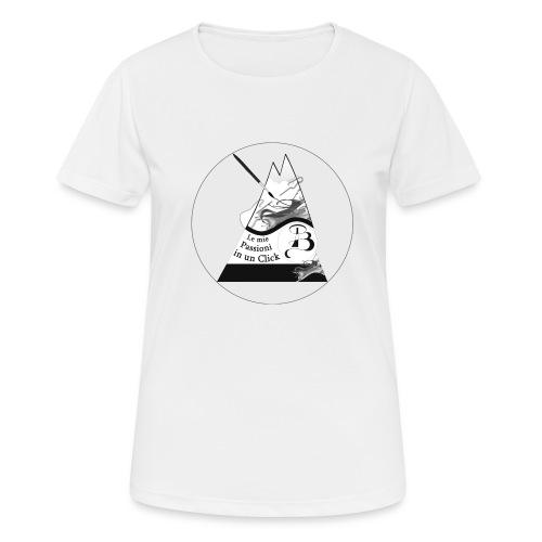 Logo BN - Maglietta da donna traspirante
