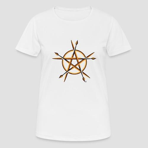 PAGAN PAINTER - Women's Breathable T-Shirt