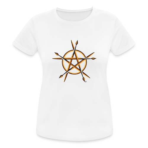 PAGAN PAINTER - Women's Breathable T-Shirt